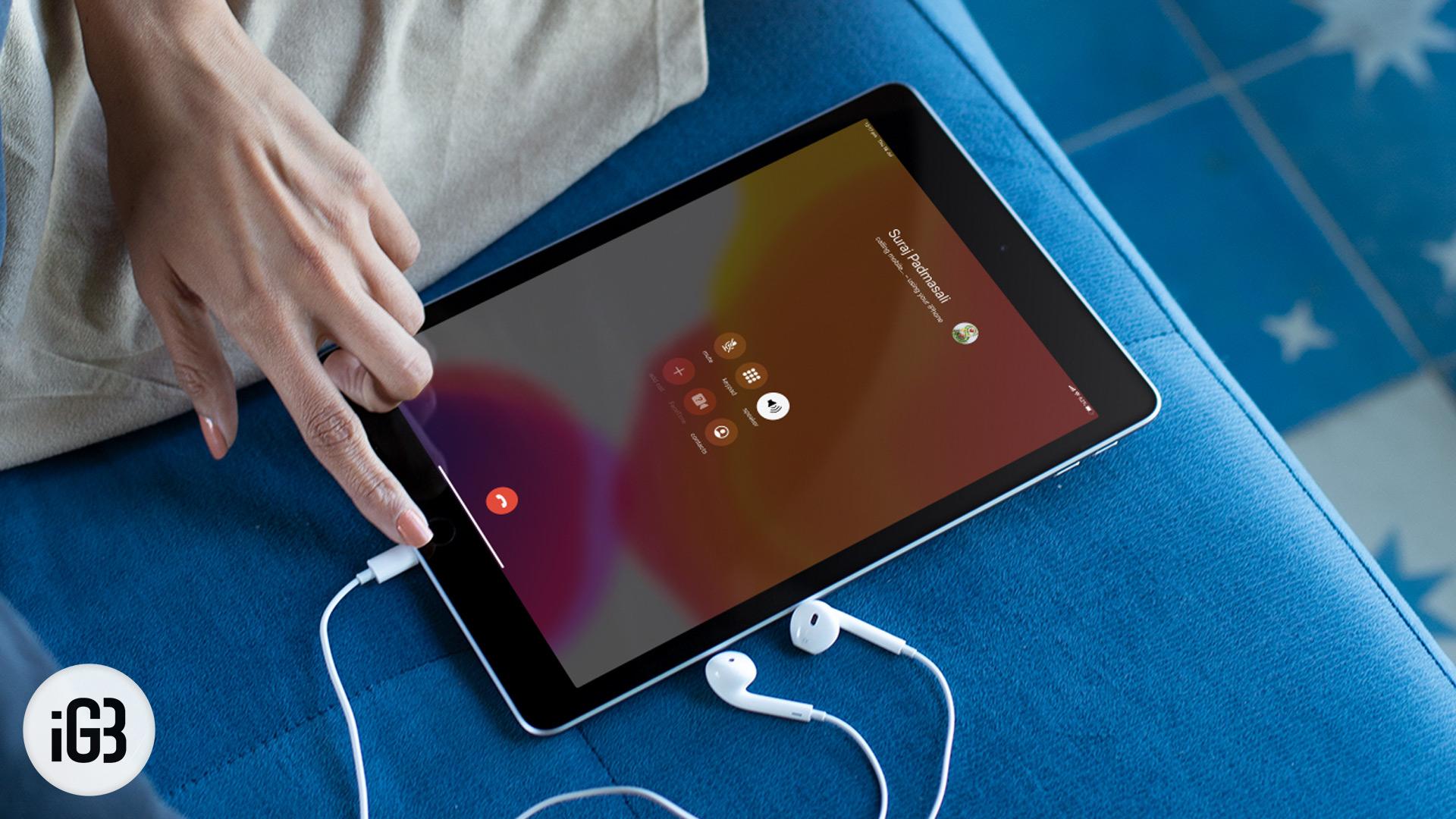 Cómo hacer y recibir llamadas telefónicas en su iPad o iPod Touch