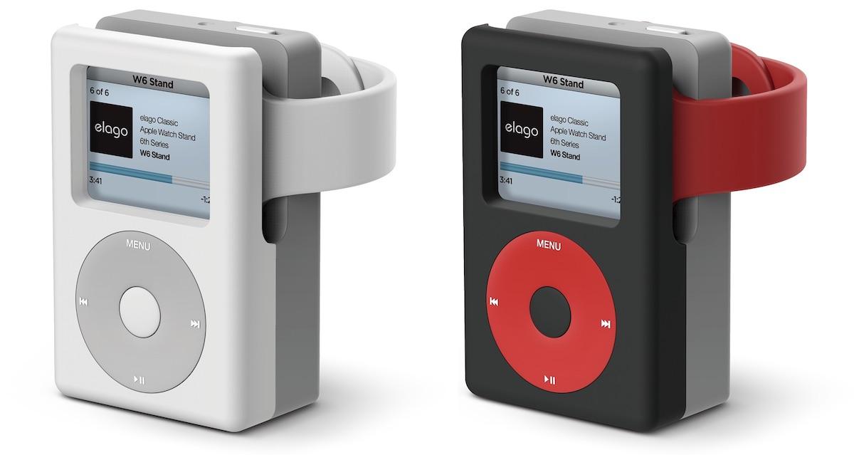 El nuevo 'soporte W6' de Elago convierte tu Apple Watch en un iPod