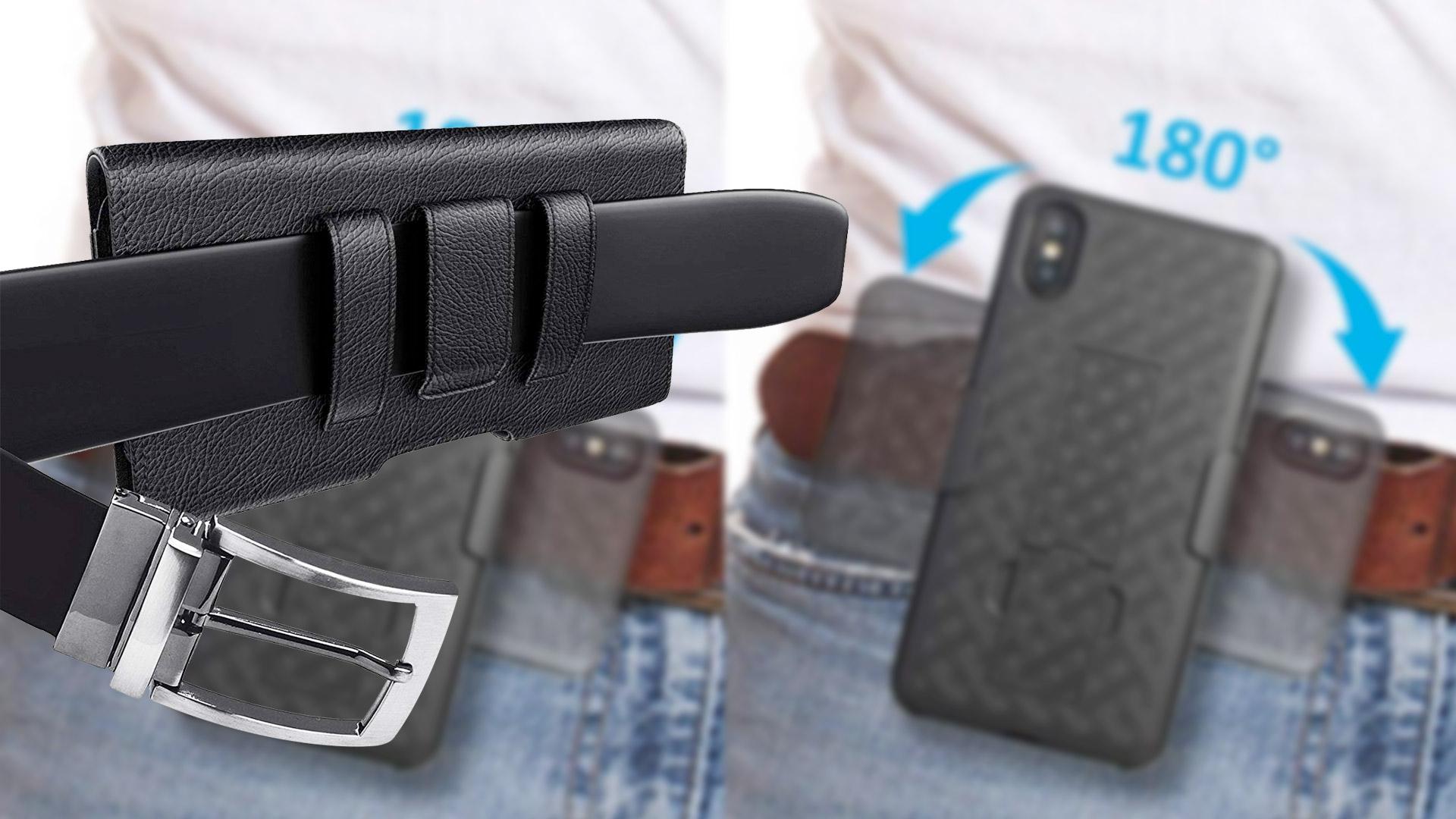 Las mejores fundas con clip para el cinturón para el iPhone Xs Max en 2019: el escudo más confiable para tu poderoso iPhone