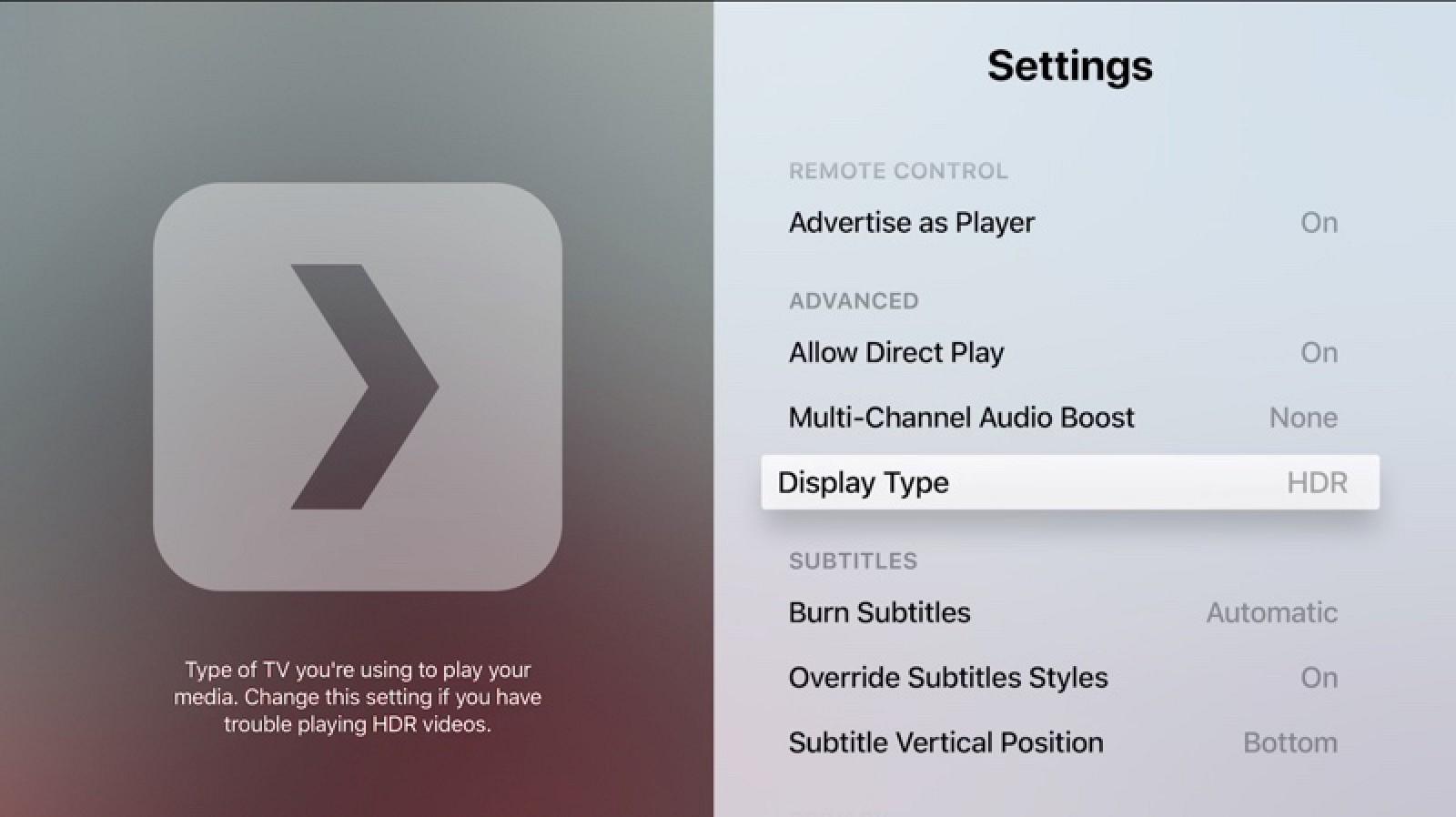 Plex obtiene soporte para HDR en Apple TV, soporte para Face ID / Touch ID en iOS