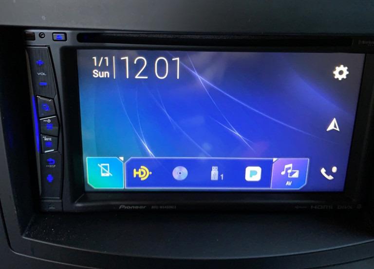 Revisión: Pioneer w6400nex ofrece un sistema inalámbrico CarPlay fácil de instalar