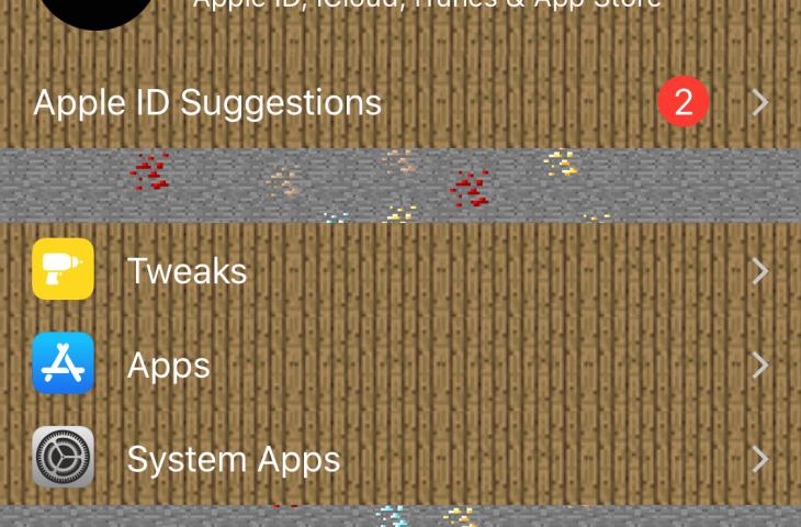 ¿Amor Minecraft? Este ajuste hace que la aplicación de configuración de tu iPhone se parezca más al juego