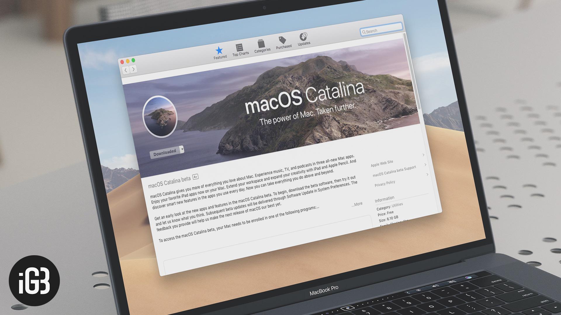 Cómo instalar macOS Catalina 10.15 Public Beta 3 en Mac