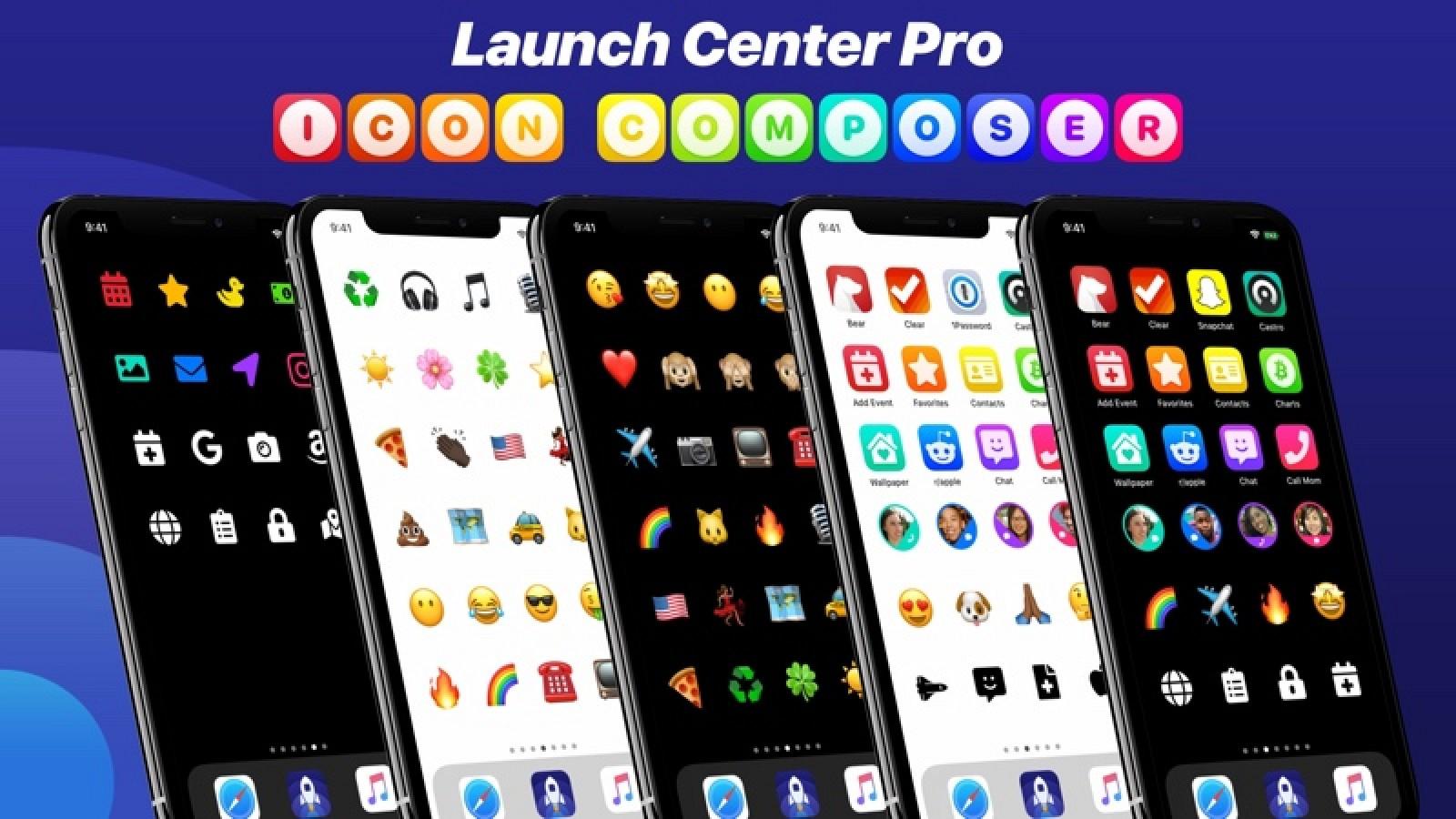 Launch Center Pro obtiene la nueva función Icon Composer