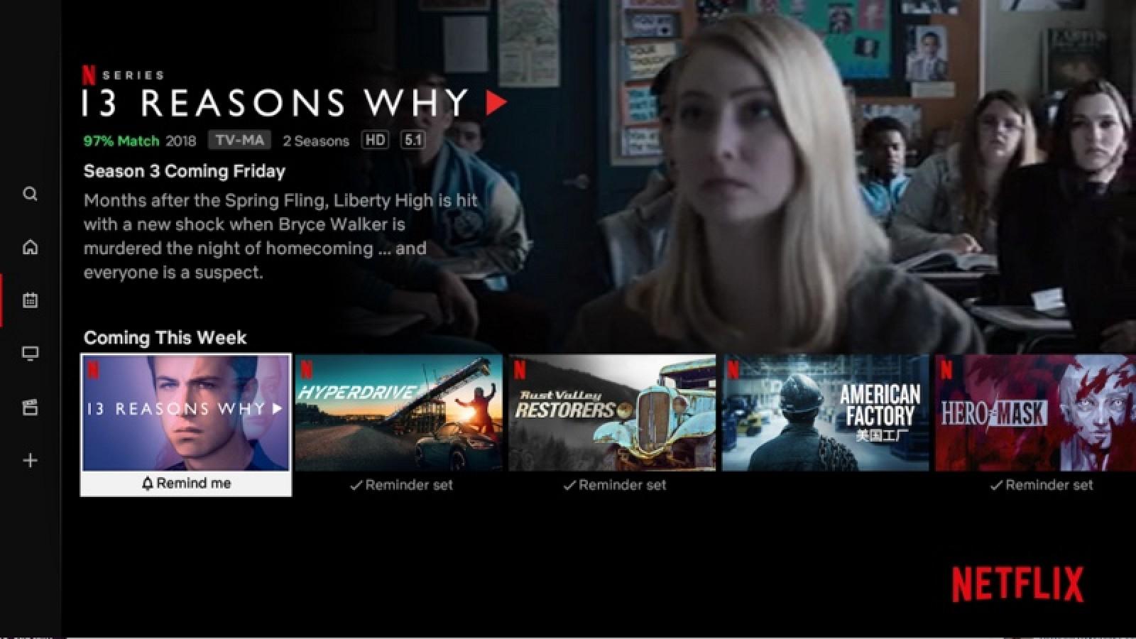 Netflix agrega la sección 'Últimas' para mostrar todo lo nuevo y próximamente