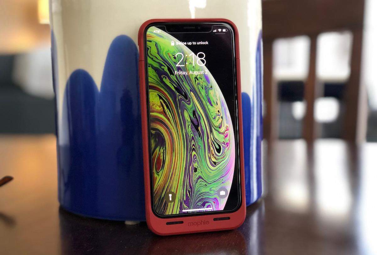 Revisión: Mophie's Juice Pack Air duplica la duración de la batería para el iPhone XS, XS Max y X en una funda delgada
