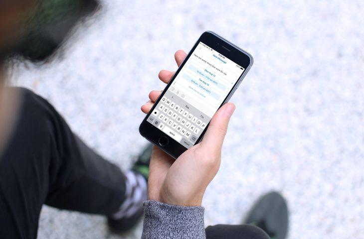 Cómo enviar su disponibilidad en Outlook en iPhone y iPad