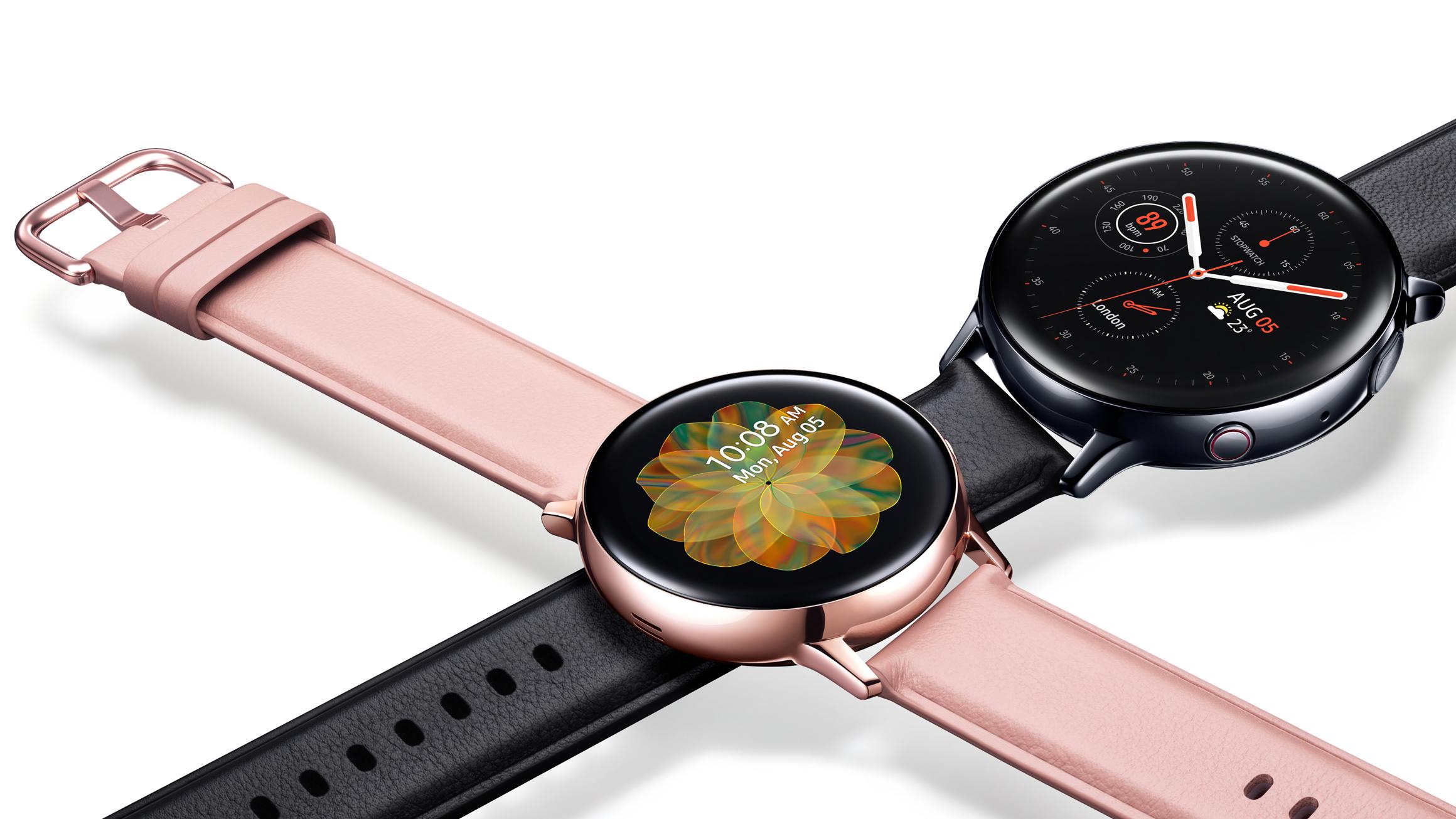 Samsung Galaxy Watch Active 2 vs Apple Watch Series 4: diseño