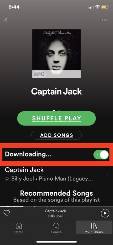 Cómo descargar una sola canción de Spotify
