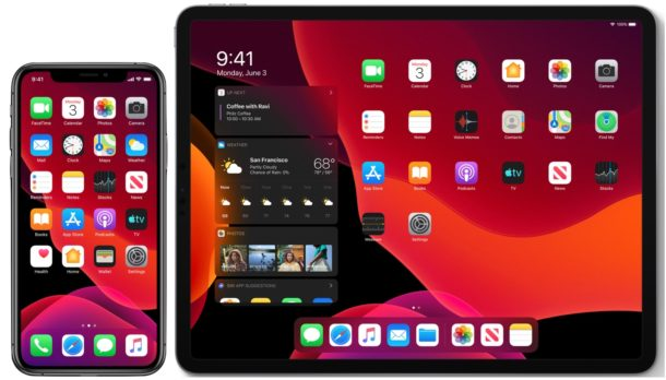 iOS 13 y iPadOS 13