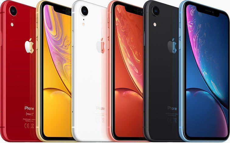 iPhone X vs iPhone XR: elección de color