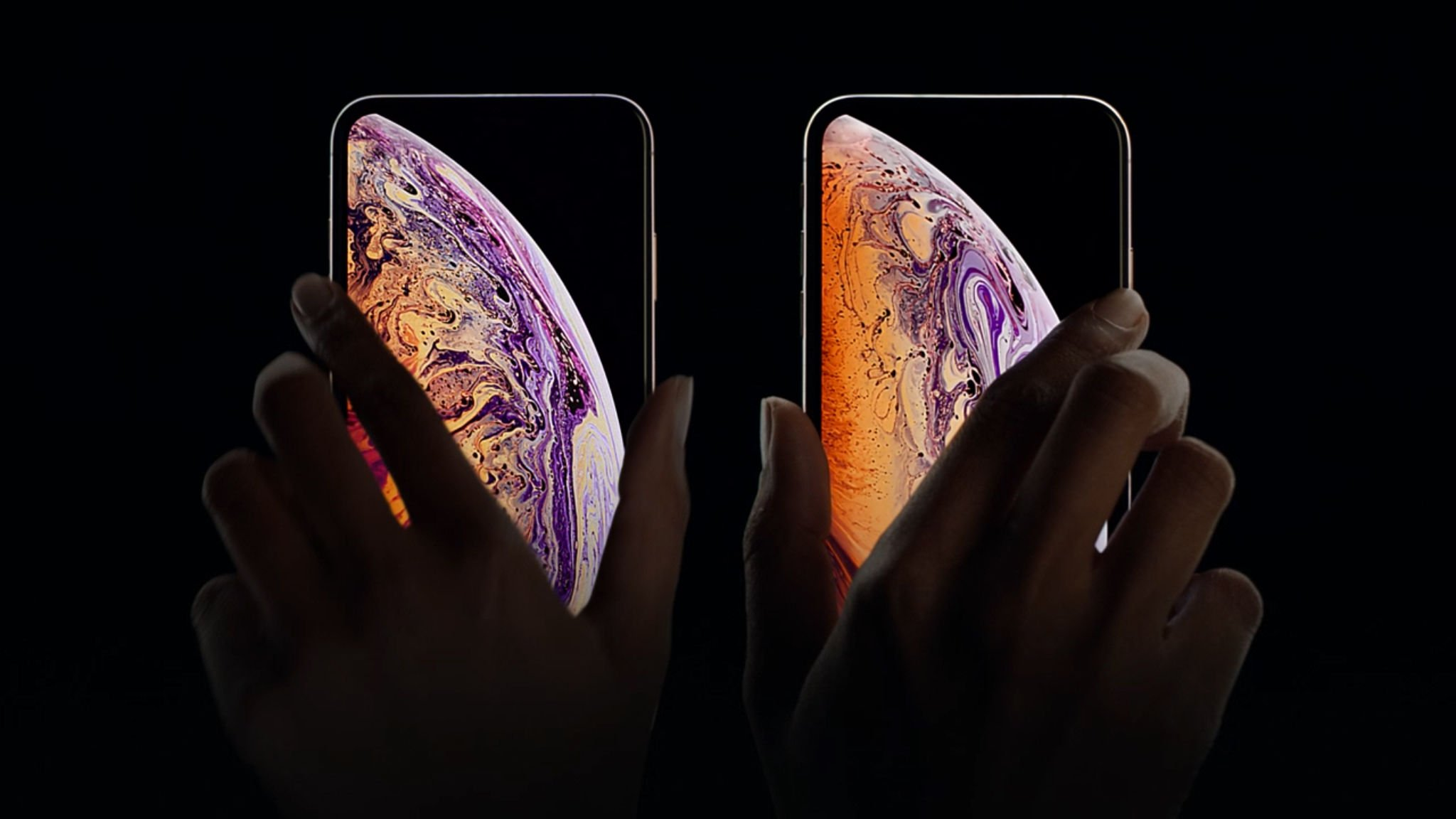 iPhone XS vs iPhone XR: pantalla