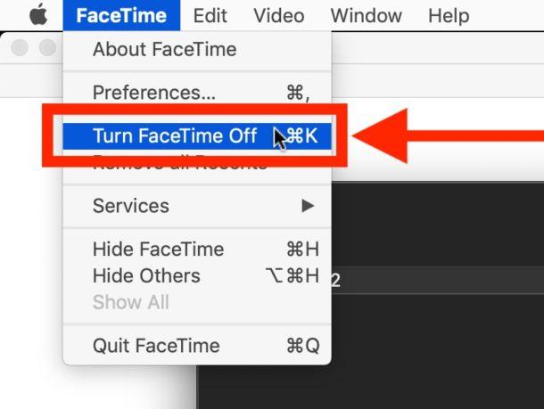 Desactivar FaceTime evitará que FaceTime se abra en llamadas entrantes
