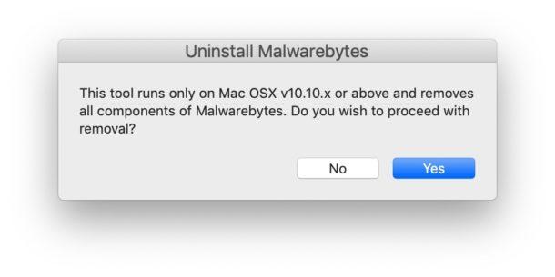 Desinstalar Malwarebytes de Mac