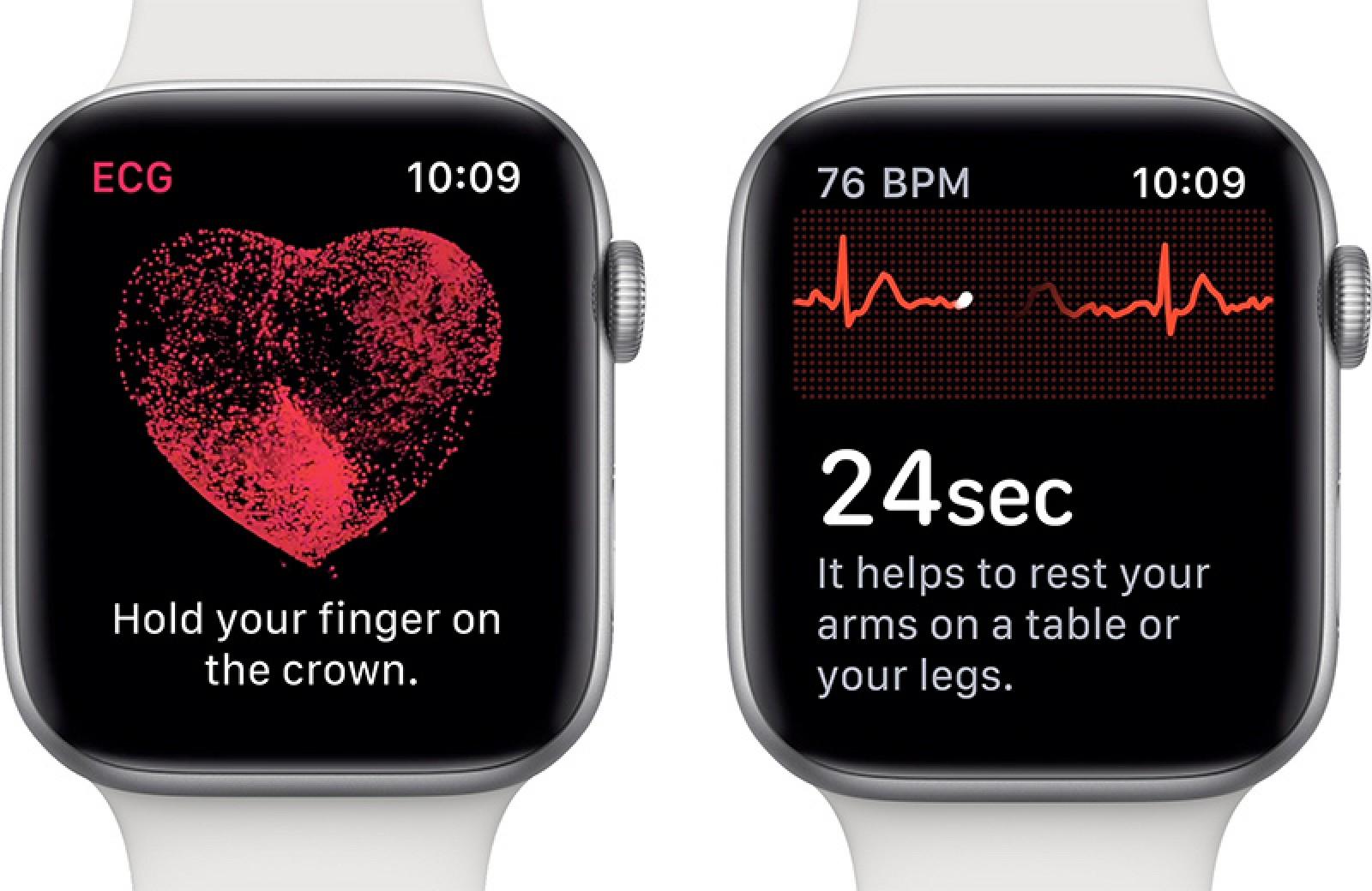 Apple Watch Series 4 y Series 5 ECG se lanza en India