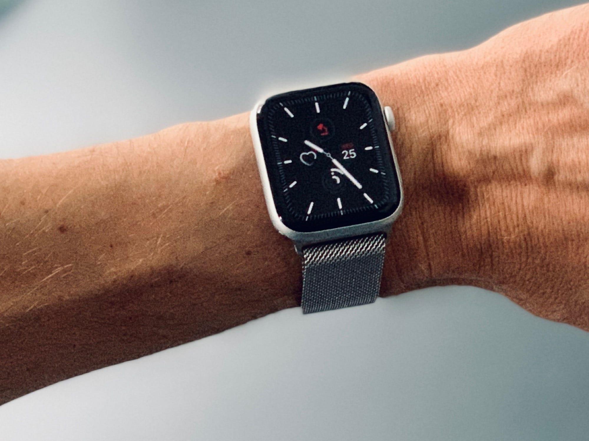 Aumenta la privacidad de la cara siempre activa de Apple Watch Series 5