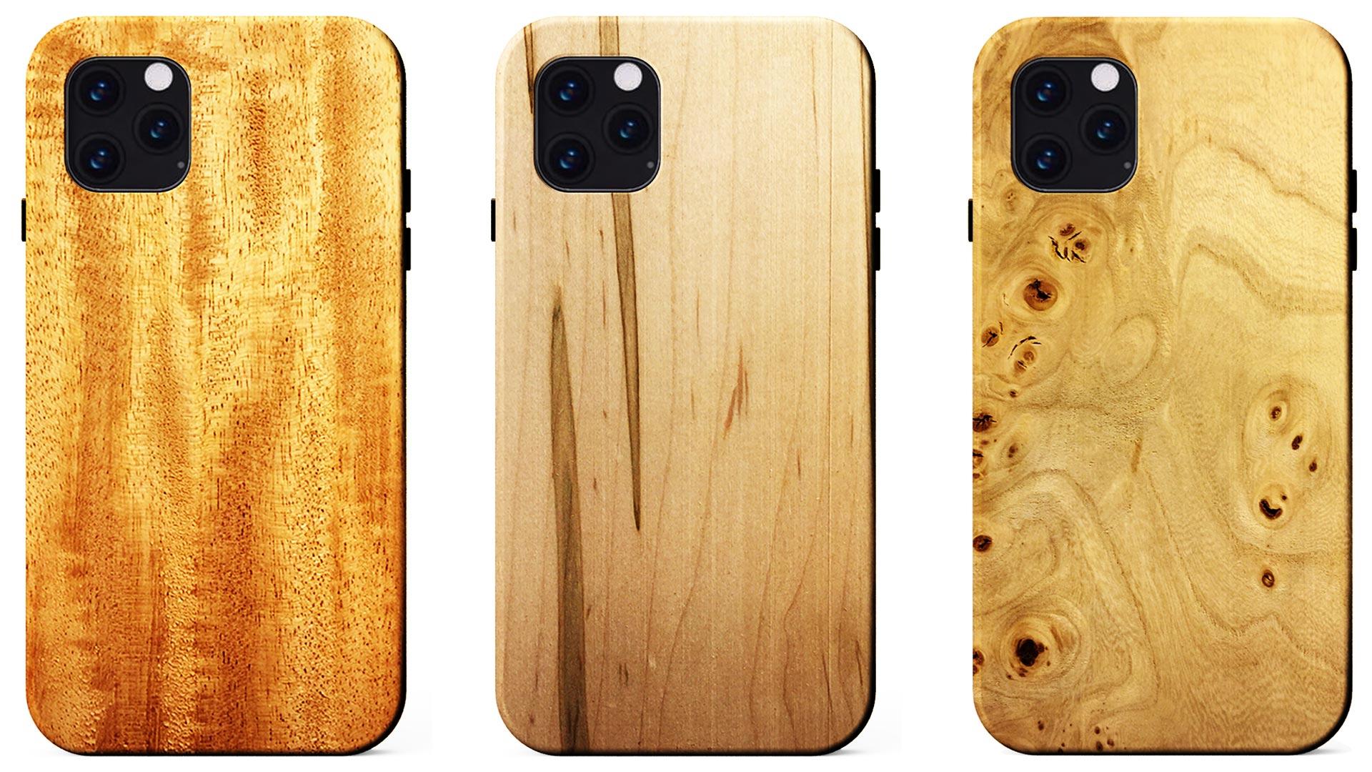 Gama de estuches de madera para iPhone 11, 11 Pro y 11 Pro Max de KERF