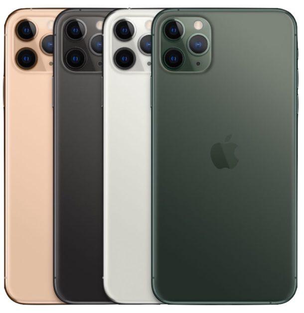 colores del iPhone 11 Pro Max