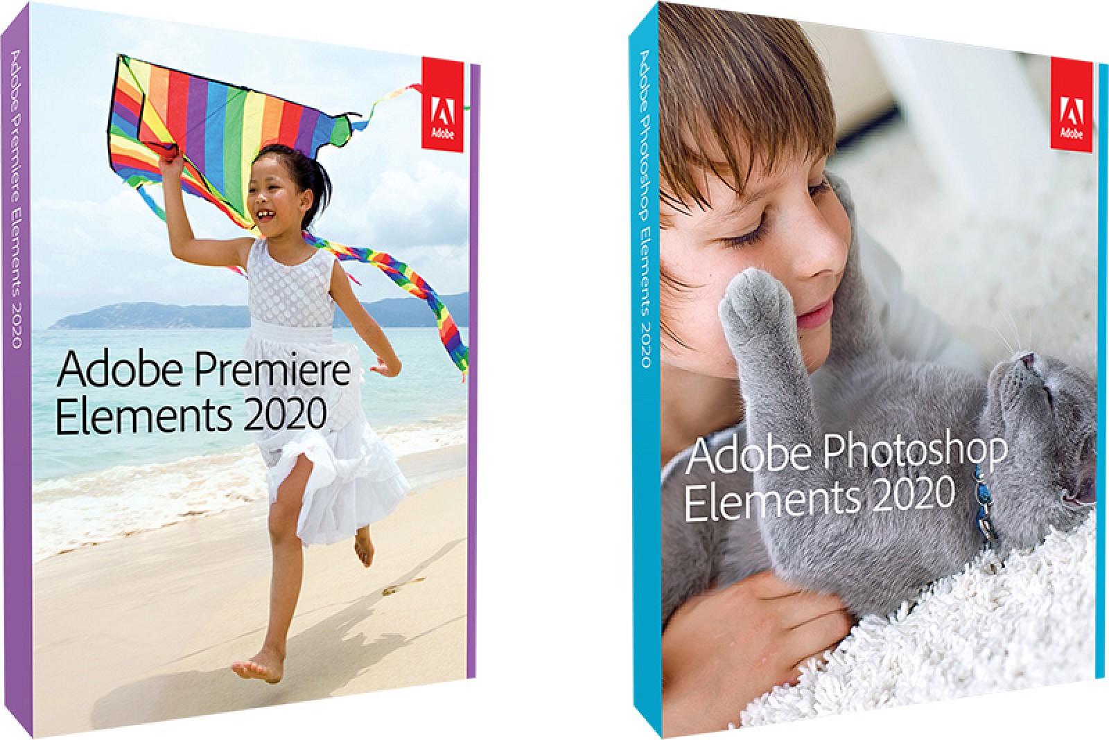 Adobe lanza Premiere y Photoshop Elements 2020