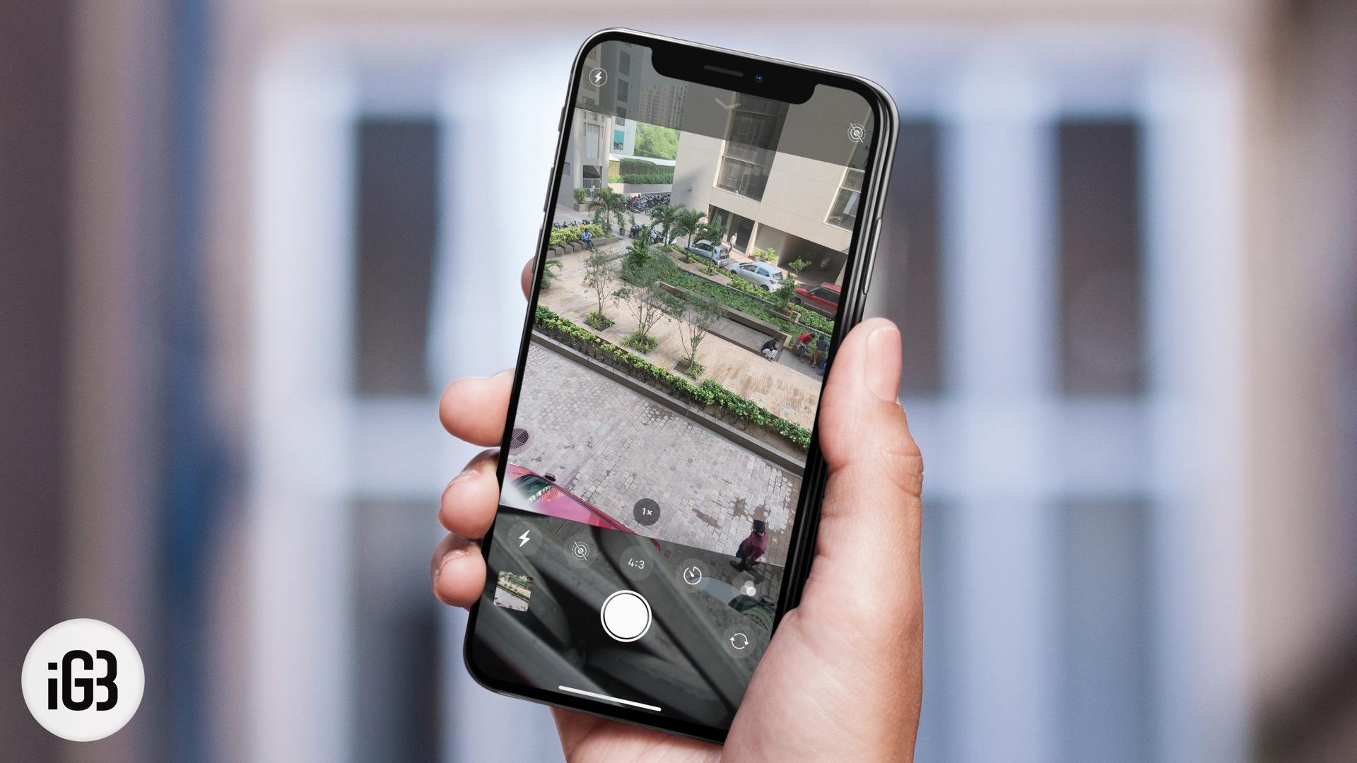 Cómo tomar fotos con temporizador en iPhone 11, 11 Pro y 11 Pro Max
