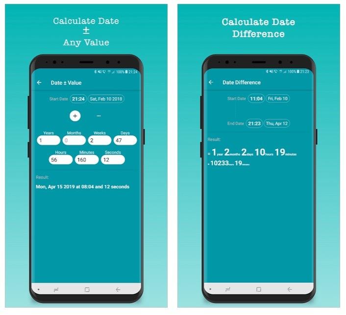 Calculadora de tiempo y horas