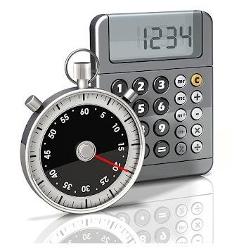 Logotipo de la calculadora de tiempo rápido
