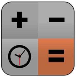 Logo de calculadora de tiempo