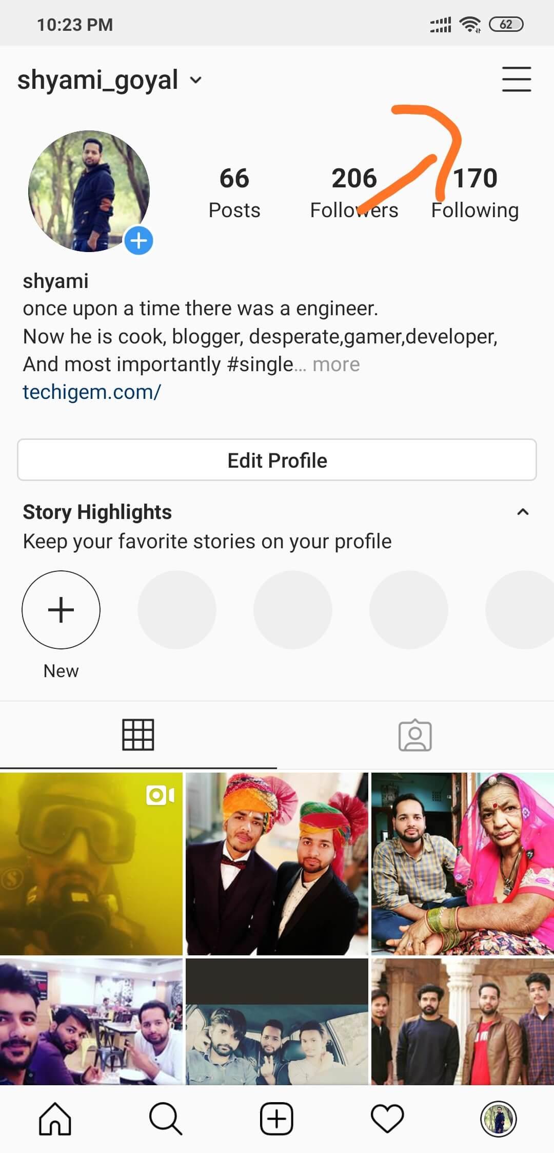 Cómo crear y agregar segundos Instagram Cuenta