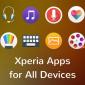 Descargue las aplicaciones exclusivas de Sony desde Playstore en cualquier dispositivo Android.