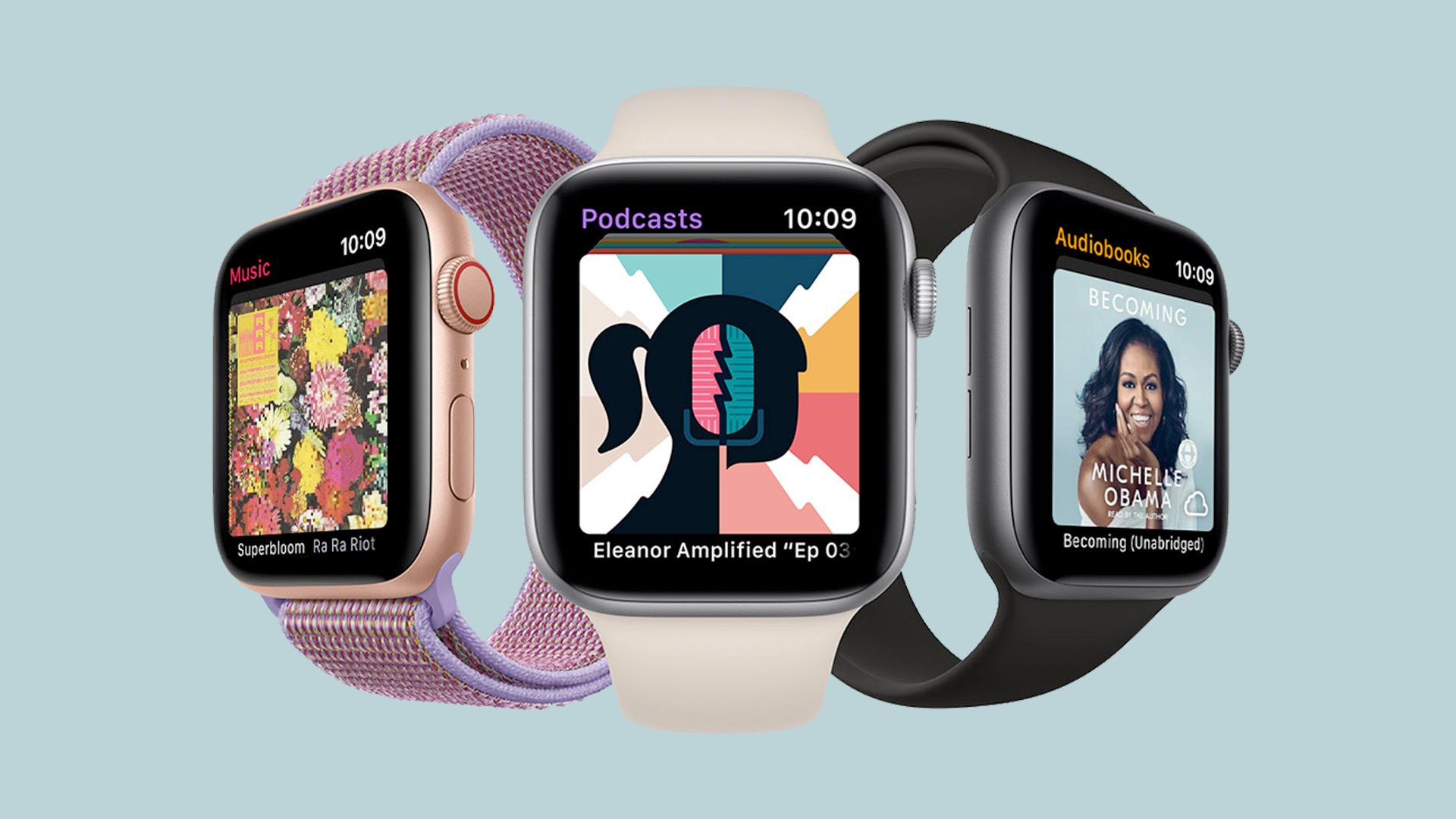 Cómo usar la aplicación Libros y reproducir audiolibros en tu Apple Watch Corriendo en watchOS 6
