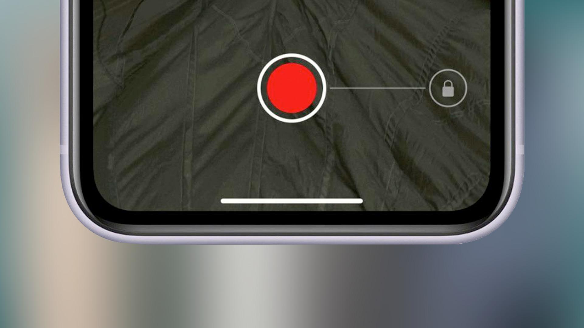 Cómo grabar video sin cambiar el modo de foto en iPhone 11, 11 Pro y 11 Pro Max