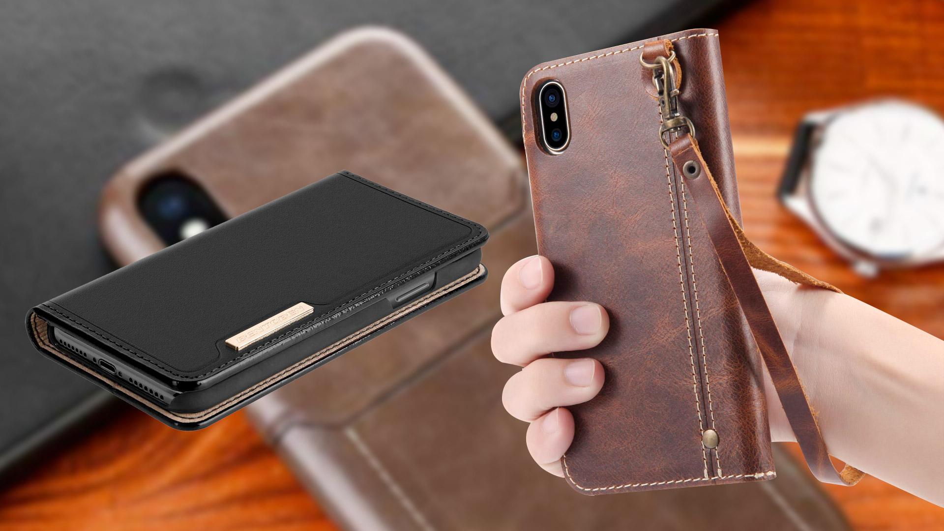 Las mejores fundas de cuero para iPhone Xs Max en 2019: diseño de aspecto profesional con rica textura de cuero