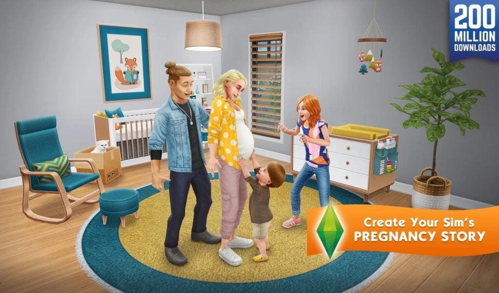 El juego Sims FreePlay 2 1024x602