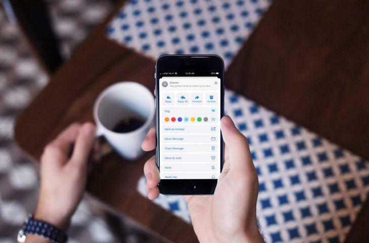 Cómo marcar correos electrónicos con diferentes colores en Mail en iPhone y iPad