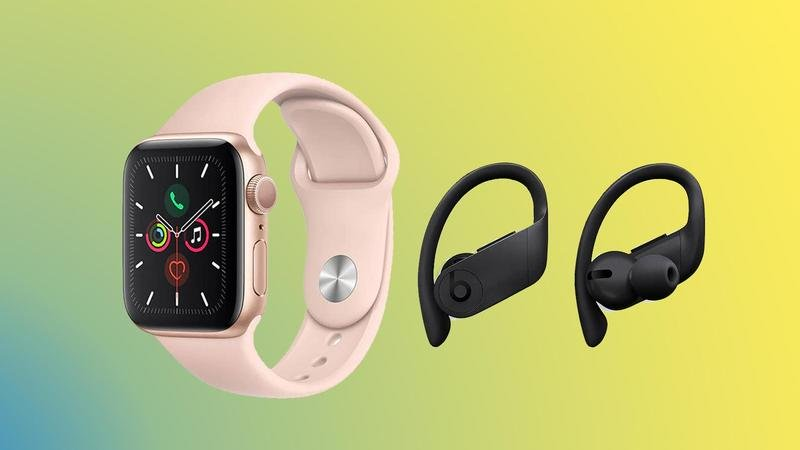 apple watch 5 deal powerbeats pro