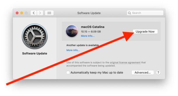 Cómo instalar la actualización de MacOS Catalina en Mac