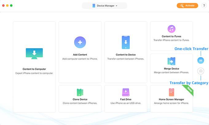 Recensione del programma IMobie AnyTrans - Migliore per iPhone Data Transfer 2019 1