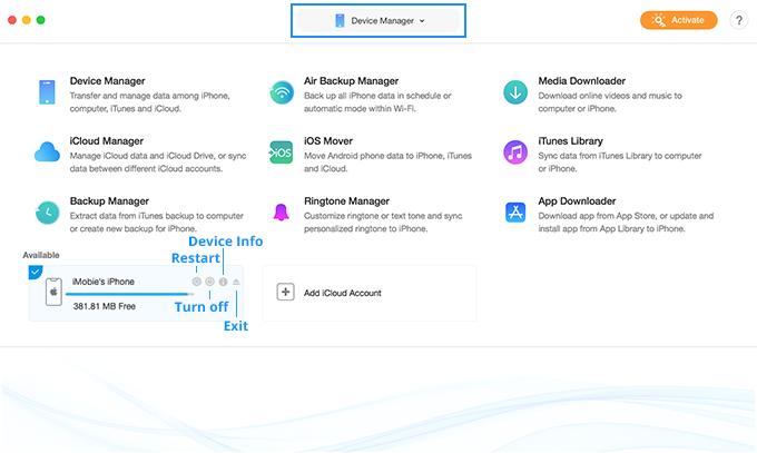 Recensione del programma IMobie AnyTrans - Migliore per iPhone Data Transfer 2019 3
