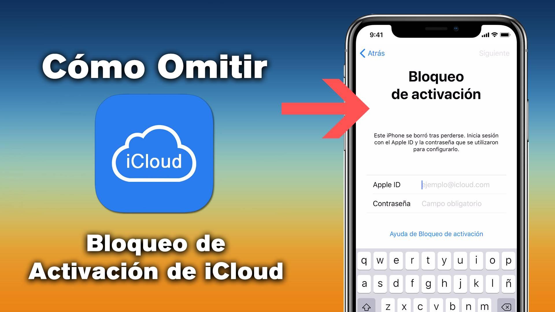▷ Cómo omitir el bloqueo de activación de iCloud en iOS 12, iOS 11 o anterior en iPhone / iPad