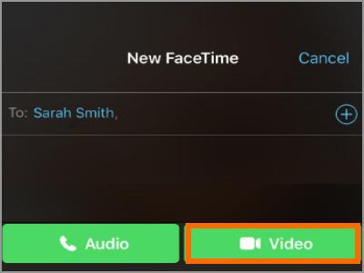Kuinka soittaa videopuhelua FaceTime for iPhone -sovellukselle 5