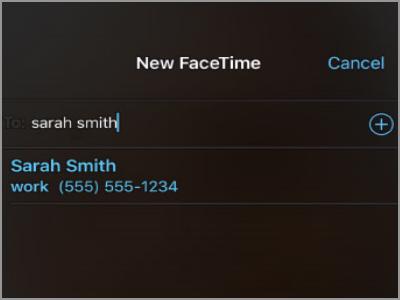 Kuinka soittaa videopuhelua FaceTime for iPhone -sovellukselle 4