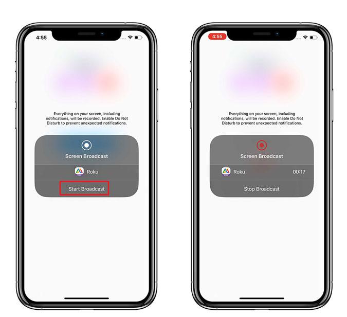 Kuinka peilata iPhone Rokuun Sovellus kopioimaan iPhone ... 6