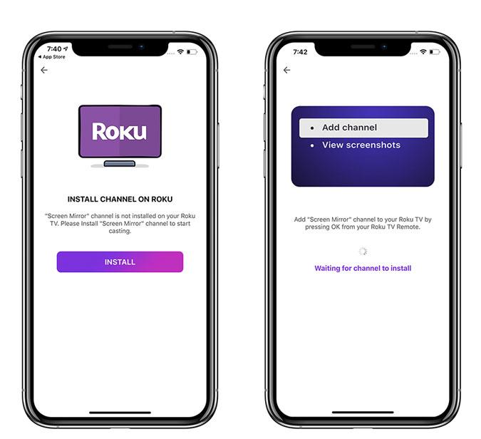 Kuinka peilata iPhone Rokuun Sovellus kopioimaan iPhone ... 4