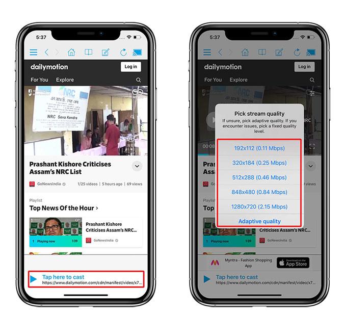 Kuinka peilata iPhone Rokuun Sovellus kopioimaan iPhone ... 9