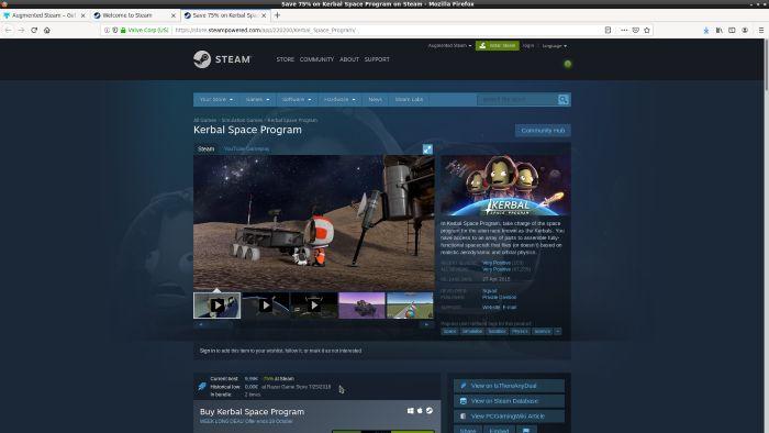 Steam Aumentado Precios más bajos