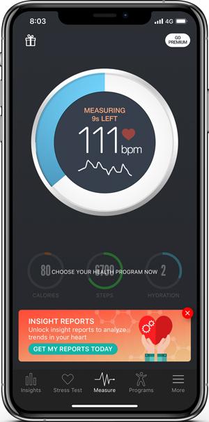 Sut i wirio cyfradd curiad y galon ar Android ac iPhone 1