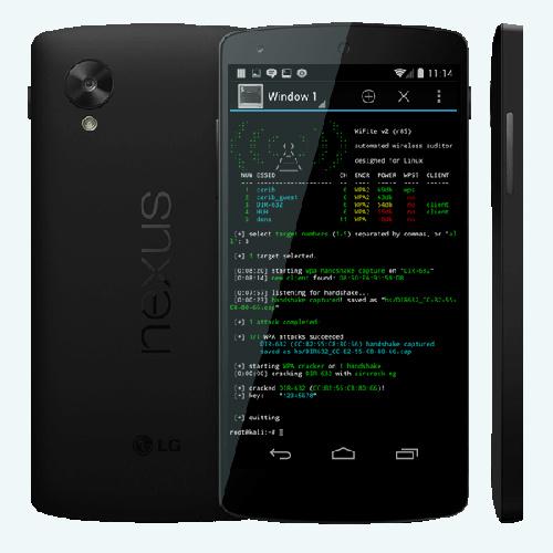 Las mejores herramientas de hackeo de Android Kali Nethunter