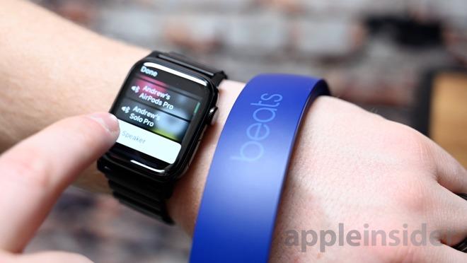 Moviendo Beats Solo Pro a Apple Watch
