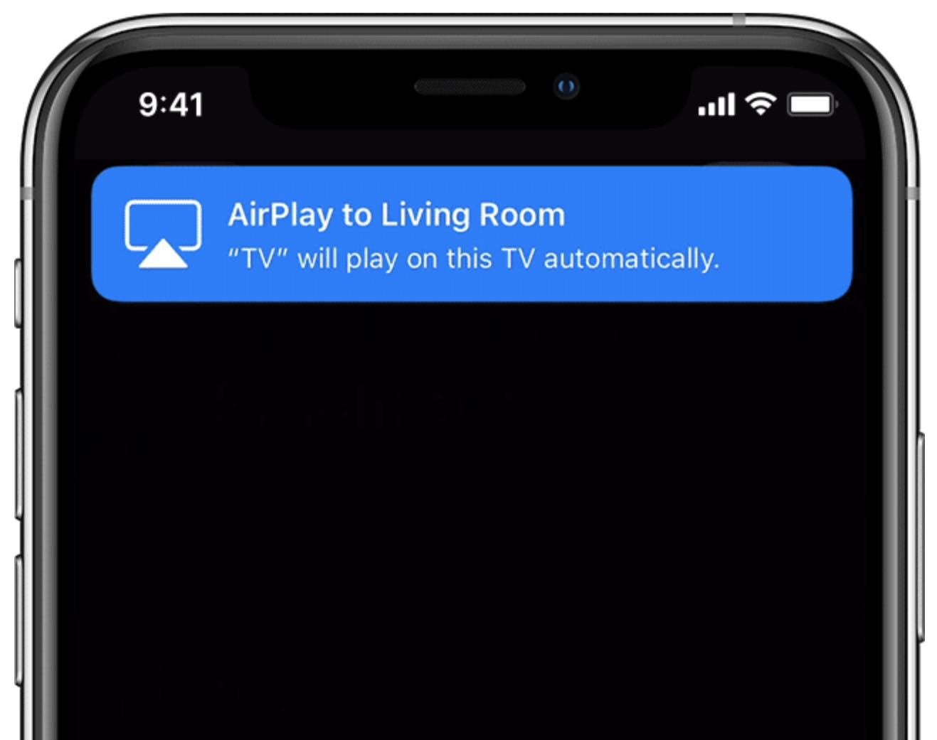 Televisores AirPlay