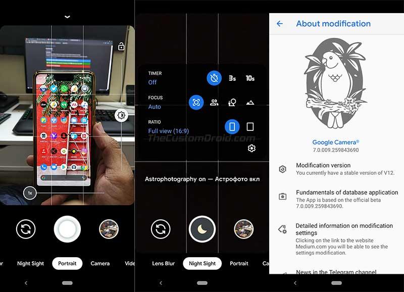 Google-kameraportti Xiaomi Mi A3: lle